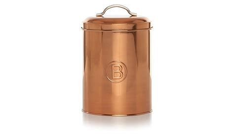 Kitchen Canisters Asda George Home Copper Biscuits Canister Home Garden