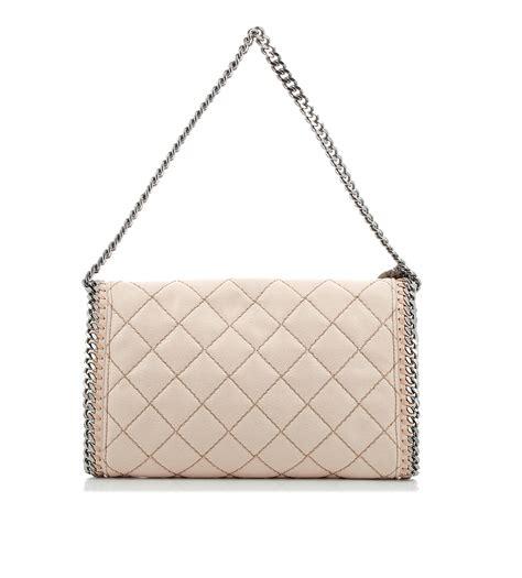 Stella Mccartney Felt And Plastic Bag by Lyst Stella Mccartney Falabella Quilted Bag