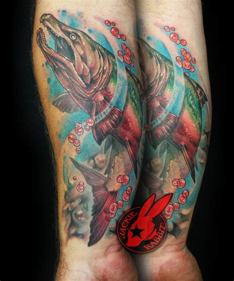 salmon tattoo best 25 salmon ideas that you will like on
