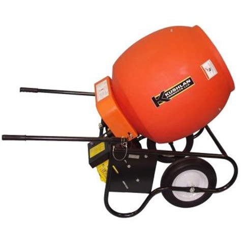 kushlan 6 cu ft gas powered cement mixer discontinued