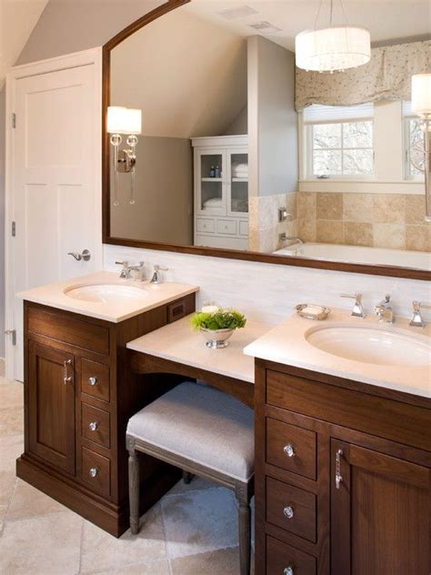 bathroom with makeup vanity 17 best ideas about bathroom makeup vanities on pinterest master bathroom vanity