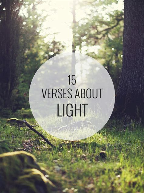 Scriptures About Light by 15 Verses About Light Shine Your Light