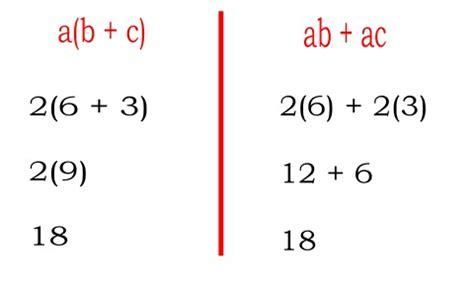 what is the distributive property and what makes it so