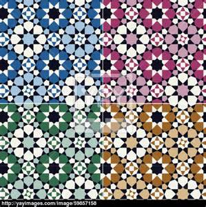 Seamless islamic geometric pattern vector yayimages com