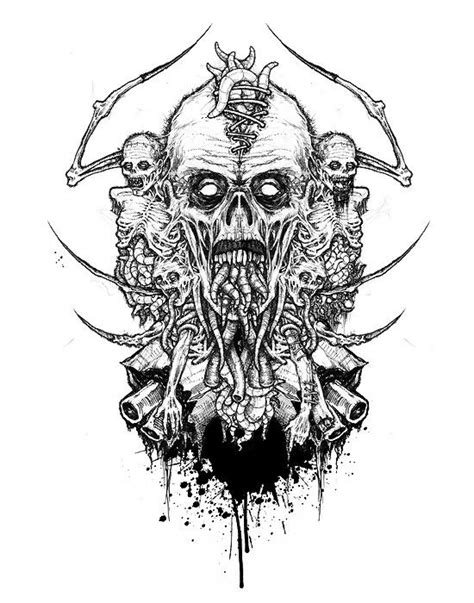 death metal tattoo designs 216 best images about heavy metal on