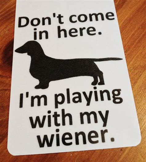 free puppy stuff free dachshund weiner door hanger sign free shipping hound doxie pet