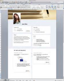 cv template word resume sle free modern templates