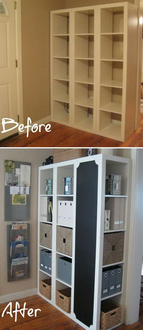 ikea hacks diy 25 ikea kallax or expedit shelf hacks hative
