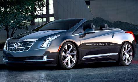 cadillac elr electric car rendering cadillac elr convertible
