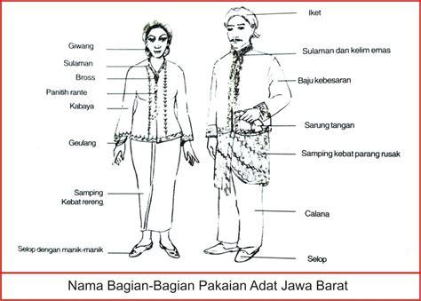 Liontin Kuku Iket Perak pakaian adat jawa barat lengkap gambar dan penjelasannya