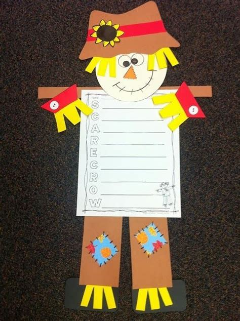 scarecrow pattern for kindergarten 275 best scarecrow snacks projects images on pinterest