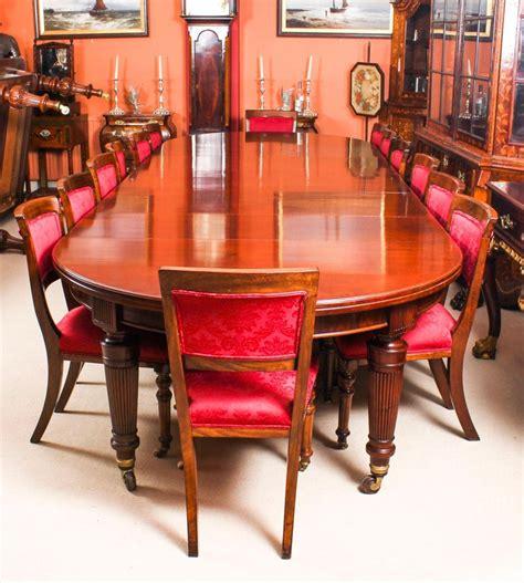 antique victorian flame mahogany circular extending dining