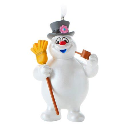 frosty the snowman christmas decorations hallmark frosty the snowman ornament walmart
