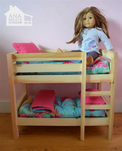 bed for american girl doll american girl bunk bed plans bed plans diy blueprints