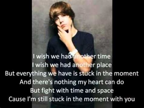 stuck in the moment justin bieber justin bieber stuck in the moment instrumental with lyrics
