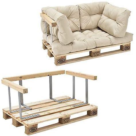 sofa eine lehne en casa paletten sofa beige armlehne 2 sitzer