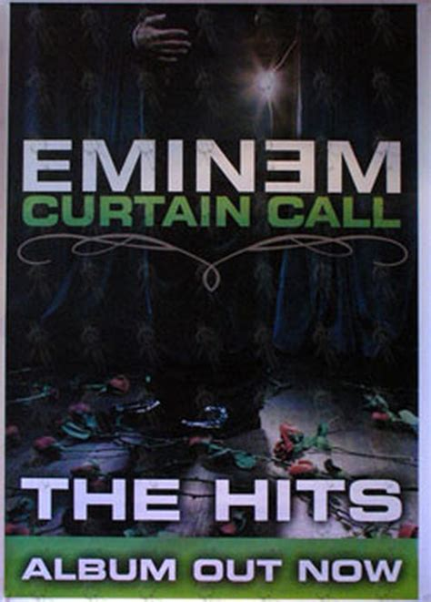 eminem curtain calls eminem curtain call the hits album promo poster