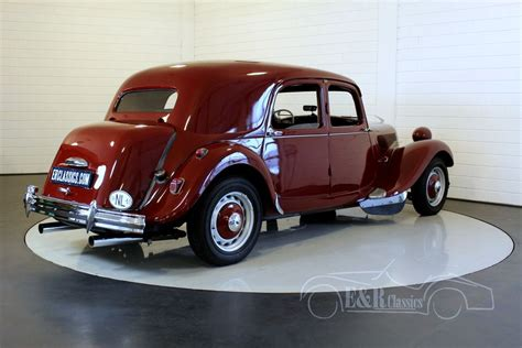 Citroen Traction Avant For Sale by Citroen Traction Avant 11cv 1953 For Sale At Erclassics