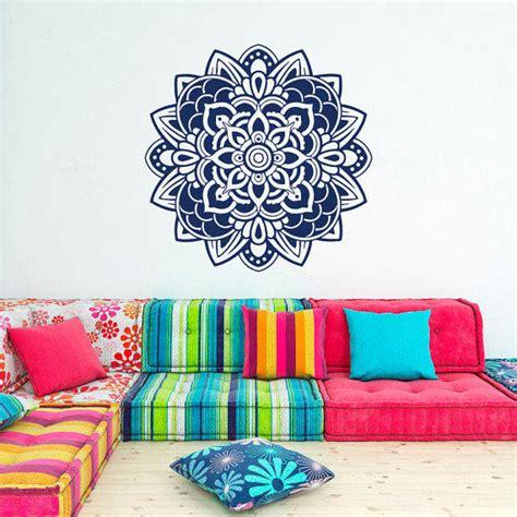 Tokomonster Lotus Flower 6 Wall Decal Sticker Size 23 mandala wall decal sticker decals from fabwalldecals