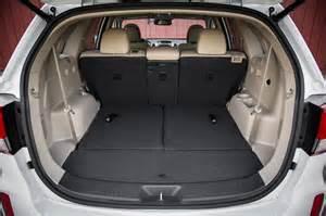 Kia Sorento Trunk Space 2014 Kia Sorento Reviews And Rating Motor Trend