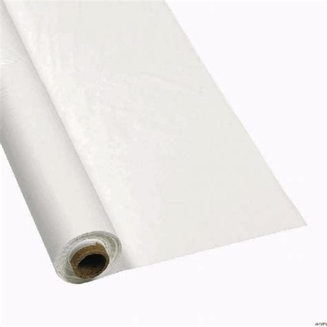 Paper Table Covers by White Paper Table Cover 30 Meter Roll Celebrations Nsw