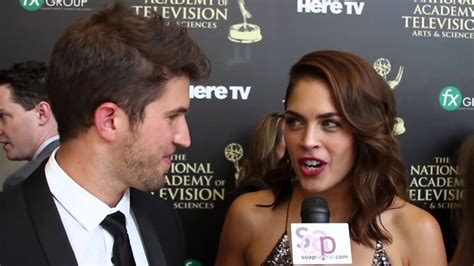 kelly thiebaud married 2014 daytime emmys bryan craig and kelly thiebaud youtube