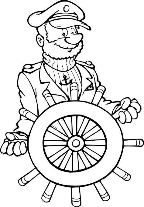 Coloriage Capitaine De Bateau 224 Imprimer Sur Coloriages Info