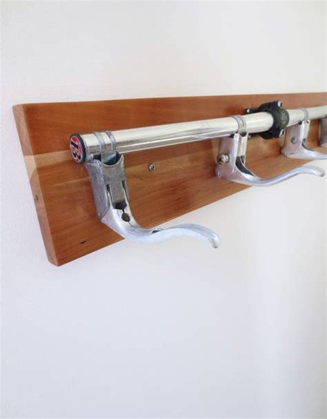 bicycle coat bicycle coat rack with reclaimed wood and recycled bicycle