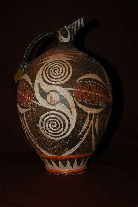 Jug Vases Replica Greek Vase Collection Depauw University