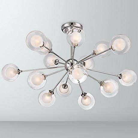 possini design 15 light glass orbs ceiling light possini design glass sphere 15 light ceiling light