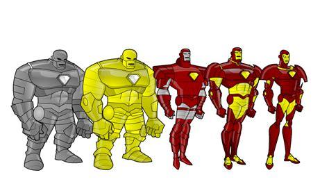 iron man evolution design gtsaiyaman deviantart