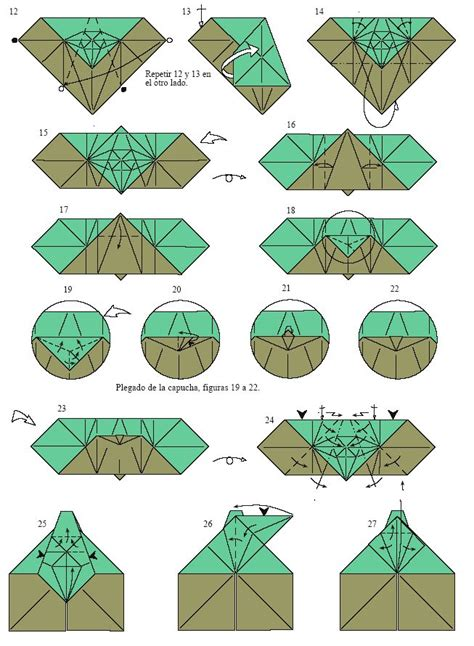 How To Fold A Origami Yoda - 25 best ideas about origami yoda on wars