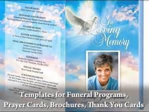 funeral programs with funeral program templates youtube