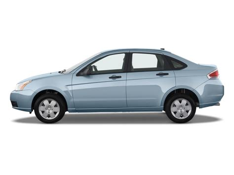 Four Door Sedan by Image 2009 Ford Focus 4 Door Sedan S Side Exterior View