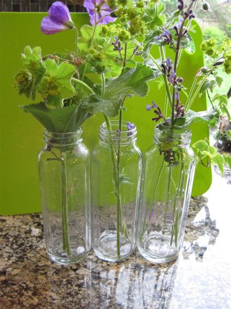 Baby Shower Vases by Glass Evenflo Baby Bottles Baby Shower Vases Set Of Three