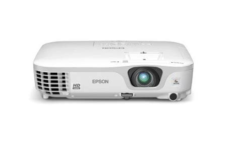 Projector Epson Hdmi epson v11h475220 powerlite home cinema 707 gold edition 720p 2700 lumens hdmi projector white