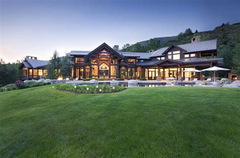 house with a beautiful view beautiful luxury house with staggering view over aspen