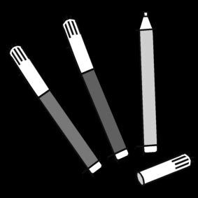 coloring page felt tip pens img  images
