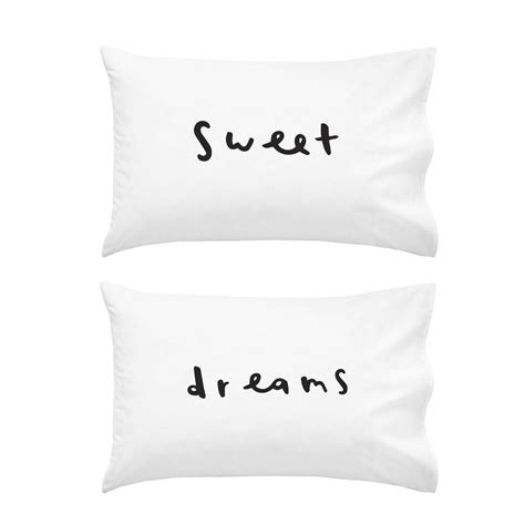 Sweet Dreams Pillow Cases by Sweet Dreams Pillowcase Set By Company