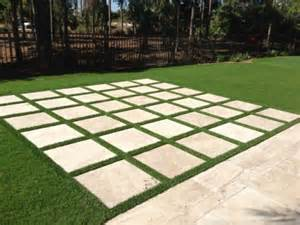 Patio Pavers Grass Between Grass Paver Photos Artificial Grass Turf