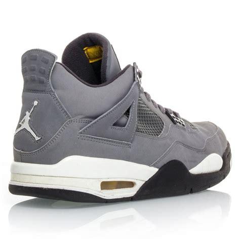 men jordan 4 c air jordan 4 retro mens basketball shoes cool grey