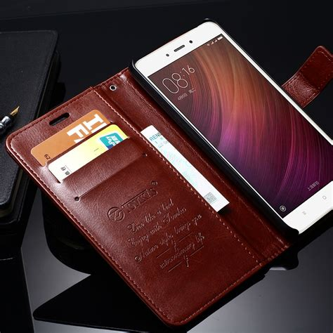 Original Xiaomi Leather Wallet Card Holder Bag xiaomi redmi note 4 cover flip stand leather wallet cases for xiaomi redmi note 4 prime