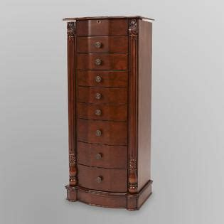 louis xvi jewelry armoire jewelry armoire stand store your jewelry in royal style with sears