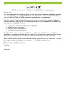 Officer Cover Letter No Experience Cover Letter For Officer Position Letter Of
