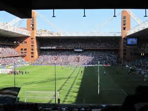 photos of sport venue in luigi ferraris stadium genoa