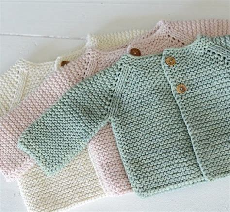 Easy Baby Cardigan Knitting Patterns Crochet And Knit
