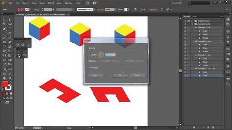 adobe illustrator isometric action tutorial youtube