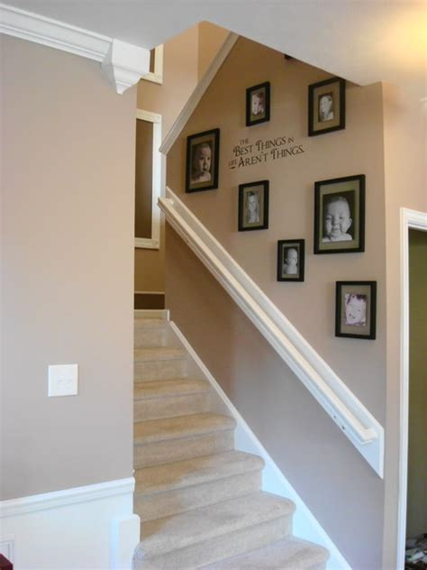 staircase decor thriftydecorchick