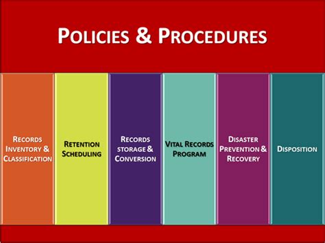 records management policy template records management policy and procedures template pccc us