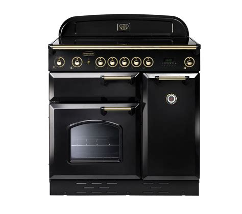 induction cooker rangemaster buy rangemaster classic 90 electric induction range cooker black brass free delivery currys
